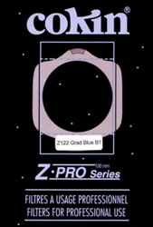 COKIN Z122 Z-PRO połówkowy niebieski