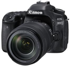 Canon EOS 80D 18-135 IS USM Nano