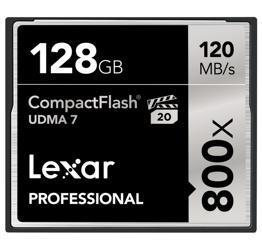 Lexar CF 128GB x800 Professional CF