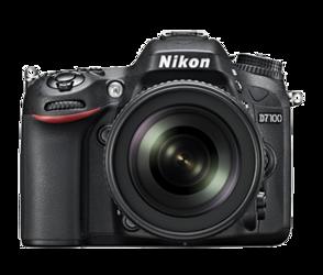 Nikon D7100 + 18-55 mm VR II