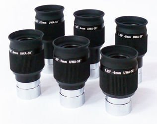"Okular Sky-Watcher SWA Plossl 1,25"" - 2,5 mm"