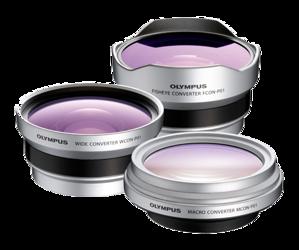 Olympus 3CON-P01 - zestaw konwerterów