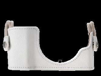 Olympus CS-45B skórzany futerał do E-PL7 / E-PL8 biały