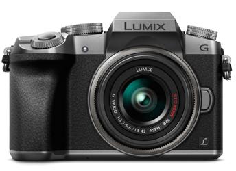 Panasonic Lumix DMC-G7 + ob. 14-42 srebrny + upgrade