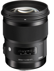Sigma A 50mm F1.4 DG HSM do Canon