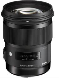 Sigma A 50mm F1.4 DG HSM do Nikon