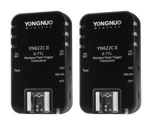 YongNuo YN-622C II zestaw wyzwalacz radiowych
