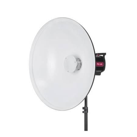 Czasza Quantuum QuadraLite Beauty Dish / Radar biały 70cm