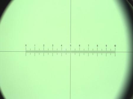Okular mikrometryczny WF10X/18 z krzyżem i podziałką (DO Genetic Pro)