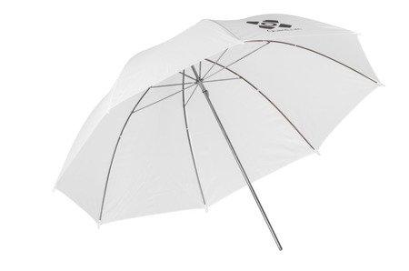 Parasolka Quantuum biała przeźroczysta 91 cm