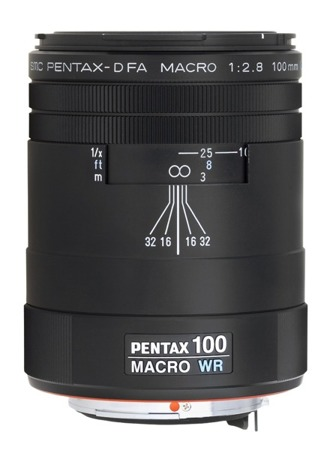 Pentax D FA 100 mm f/2,8 Macro WR