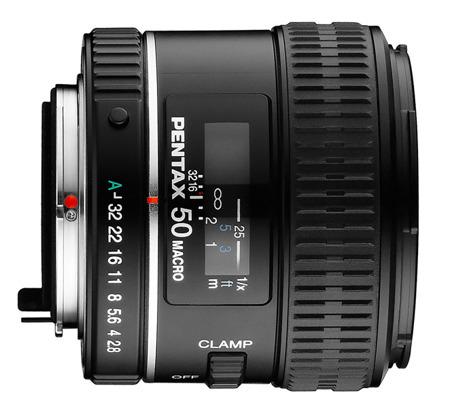 Pentax D FA 50 mm f/2,8 MACRO