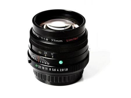 Pentax FA 77 mm F/1.8 Limited Edition - czarny