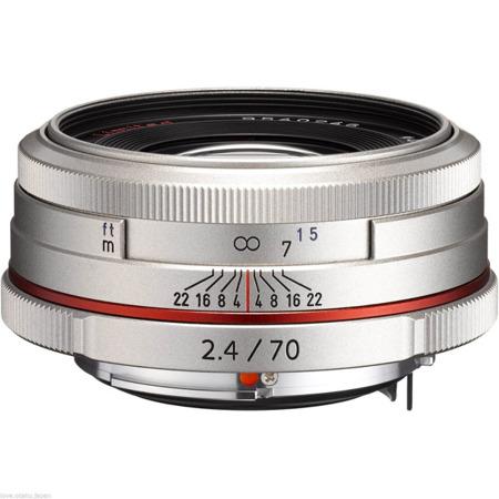 Pentax HD D DA 70mm F2.4 Limited - srebrny