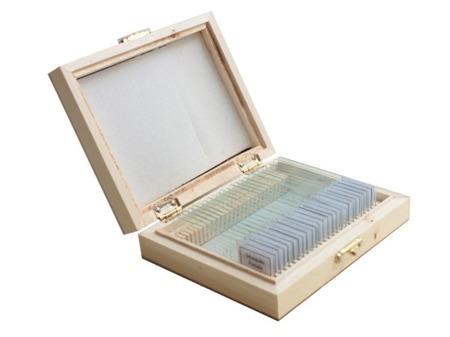 Preparaty mikroskopowe - zoologia - 25 sztuk