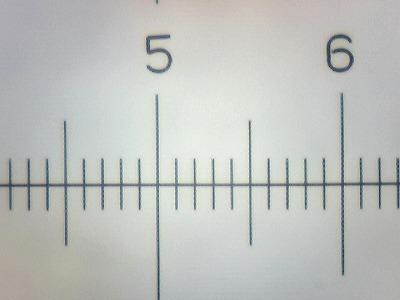 Szkiełko podstawowe mikrometryczne 0.1 mm